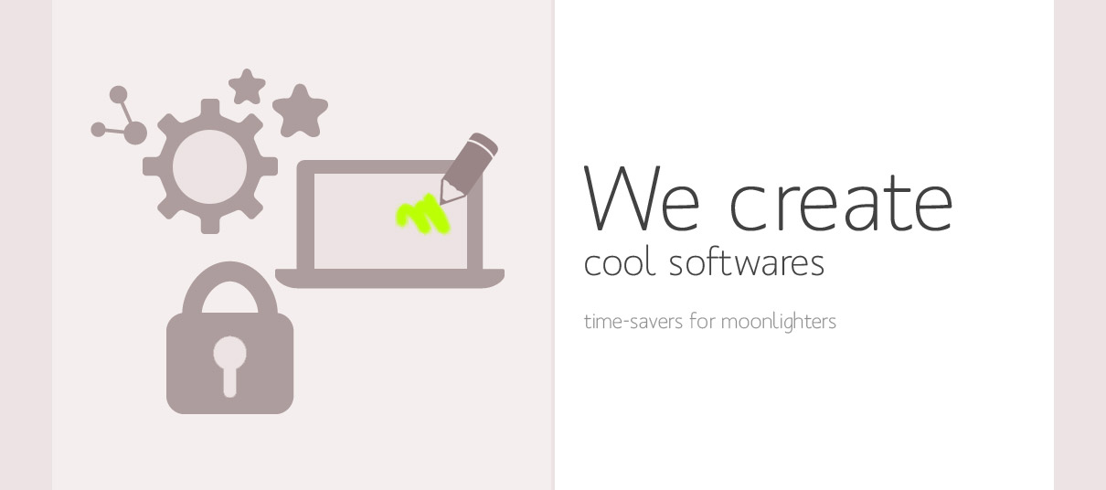 We create cool softwares